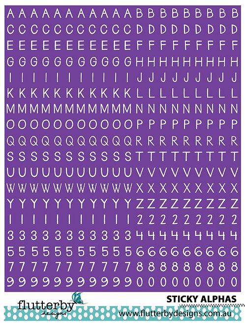 'Purple' Sticky Alphas