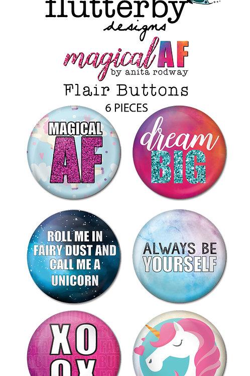 'Magical AF' FLAIR BUTTONS Set 2