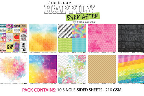 12x12 'Happily Ever After' Paper Pack