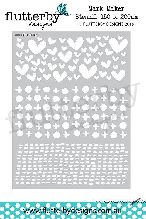 'Mark Maker' Stencil 150 x 200mm