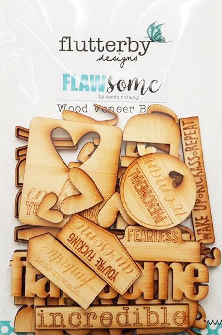'Flawsome' Wood Veneers Bits
