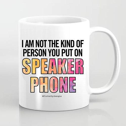 'Speakerphone' Coffee Mug