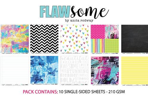 12x12 'Flawsome' Paper Pack