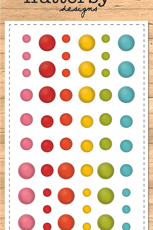 Enamel Dots - BOLD