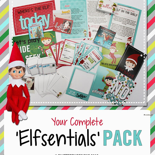 'Elfsentials' Pack for Elf on the Shelf - Dec 2015