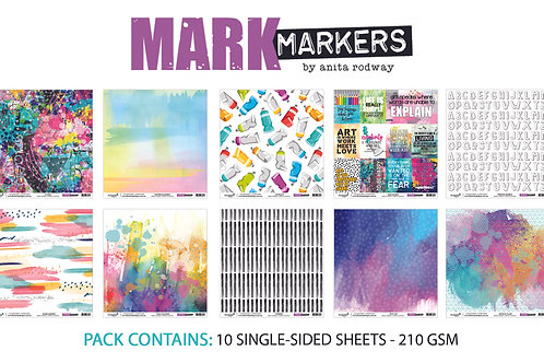 12x12 'Mark Makers' Paper Pack