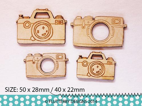 'Mini Cameras' Wood Veneers