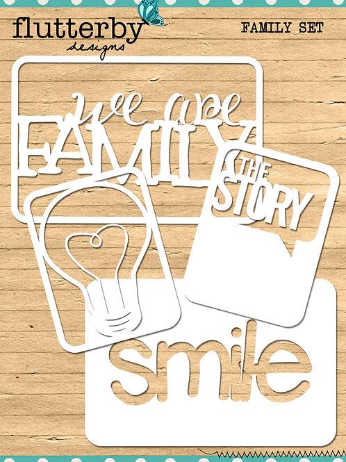 'FAMILY' Fussy Cuts