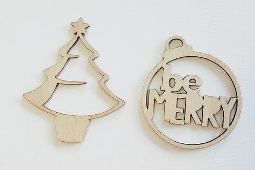 Christmas Wood Veneers