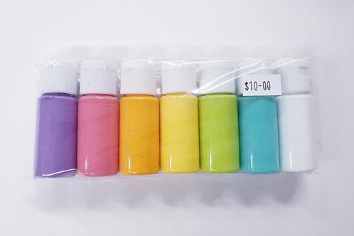 Flutter Colour Paint SMALL SET- Bright Set