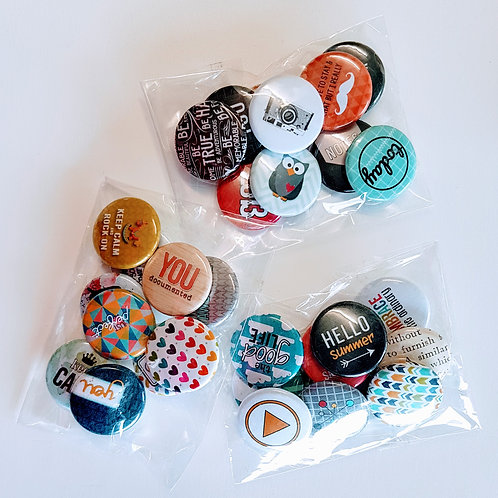 Flair Button Grab Bags