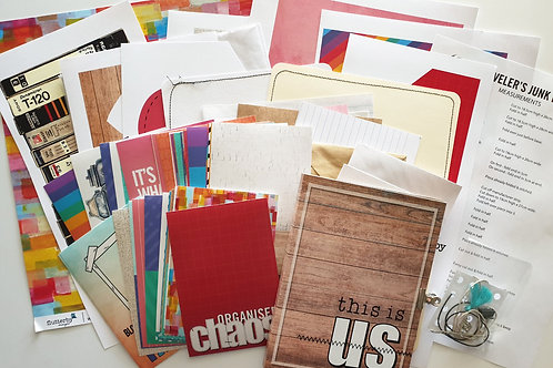 'This Is Us' Traveler's Junk Book Kit
