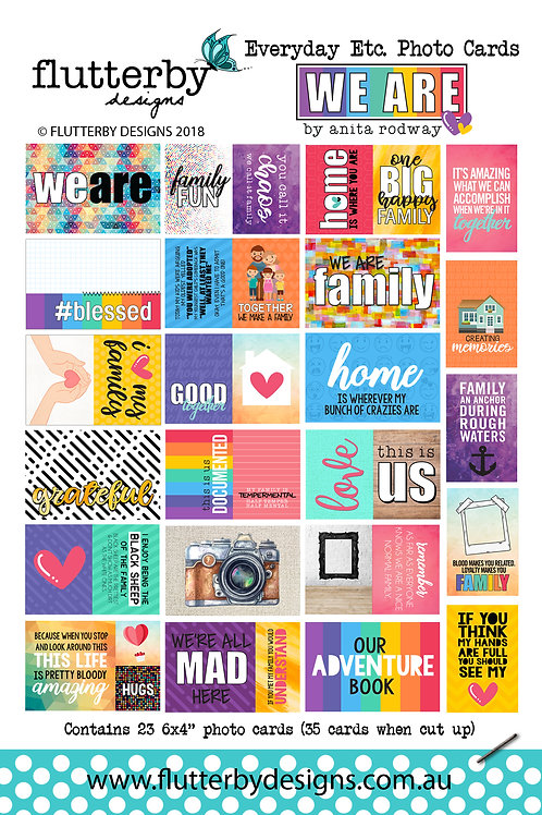 'We Are' Everyday Etc Cards