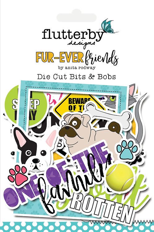 'FUR-EVER FRIENDS' Die Cut Bits & Bobs