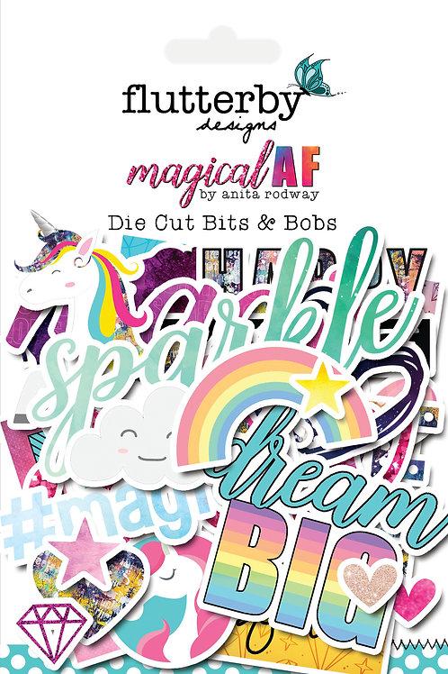 'Magical AF' Die Cut Bits & Bobs