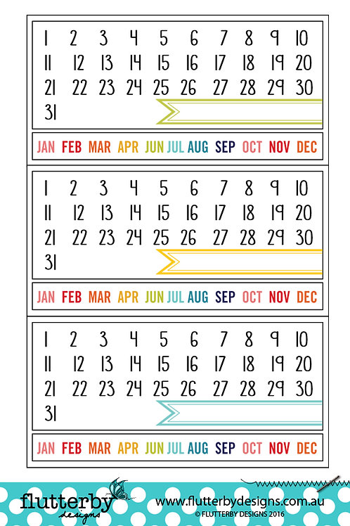 Calendars - Photo Cut Outs