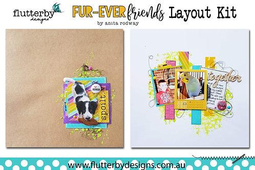 Double Page 'Fur-Ever Friends' Kit