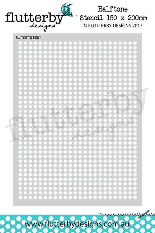 'Halftone' Stencil 150 x 200mm