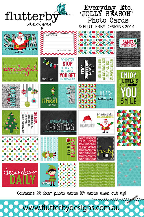 'JOLLY SEASON' Everyday Etc Cards