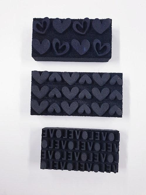Flutterby Designs 'Love' Artfoamies