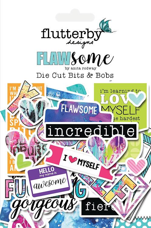 'FLAWSOME' Die Cut Bits & Bobs