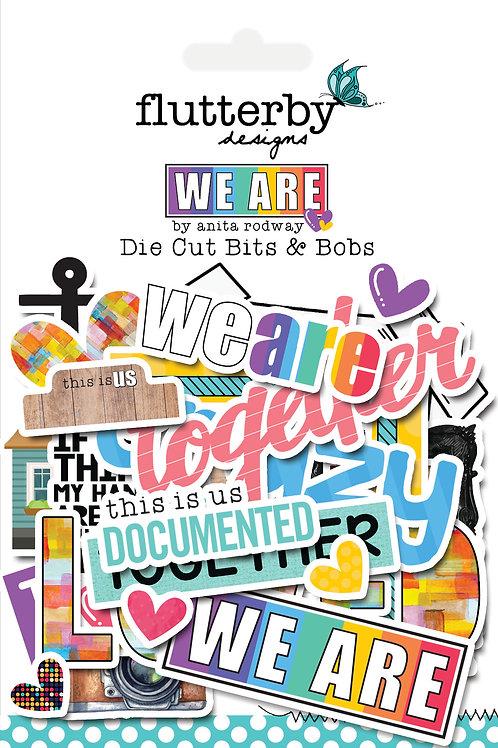 'We Are' Die Cut Bits & Bobs