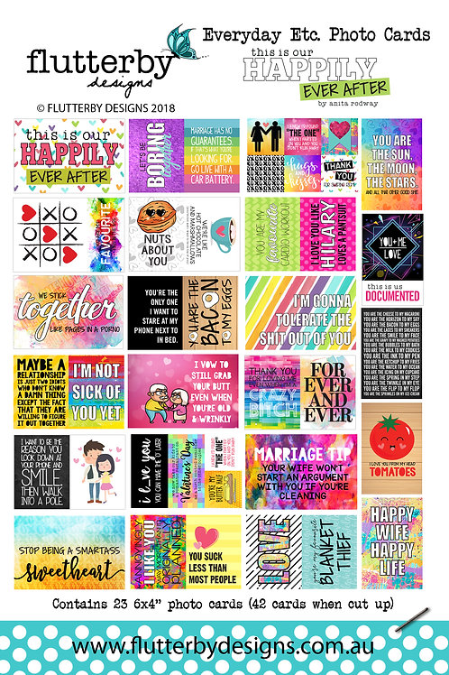 'Happily Ever After' Everyday Etc Cards
