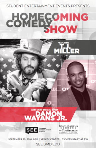 TJ Miller + Damon Wayans Jr.