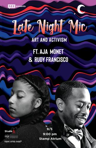 Late Night Mic Poster