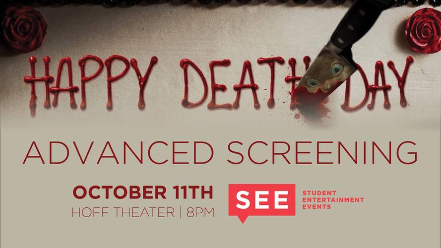 Happy Death Day promo