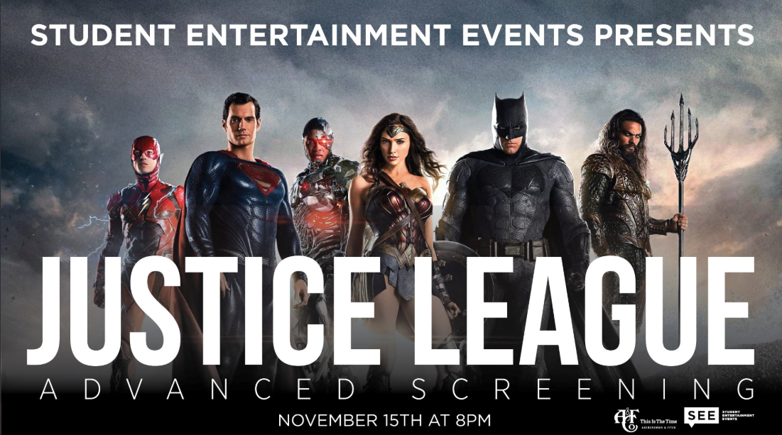 Justice League Advanced Screening