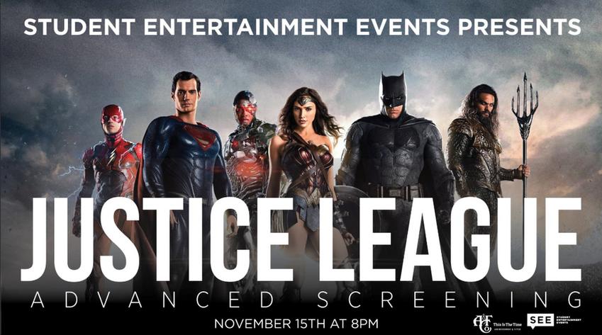Justice League Advanced Screening