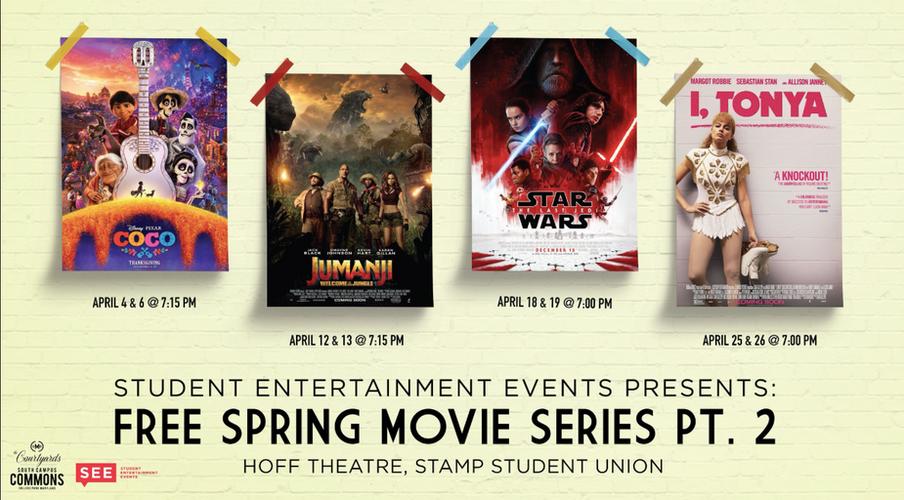 Spring Movie Series pt 2