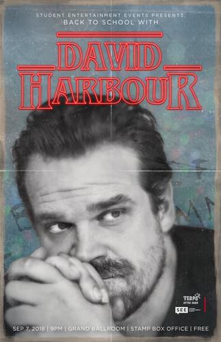 David Harbour Promo