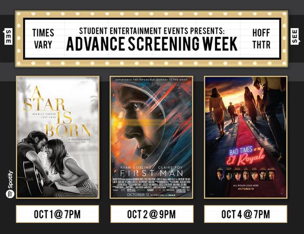Advance Screening