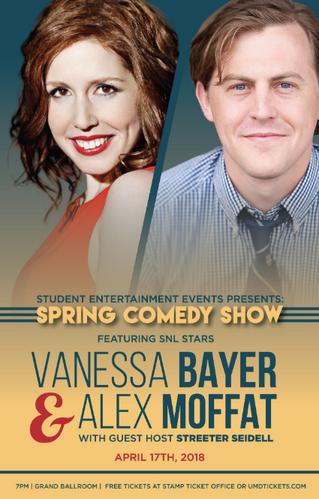 Vanessa Bayer + Alex Moffat