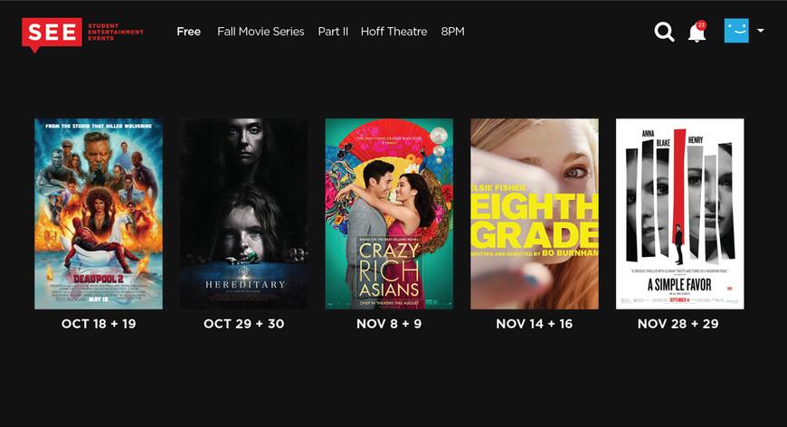 Fall Movie Series Part2