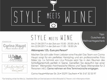 Style meets wine