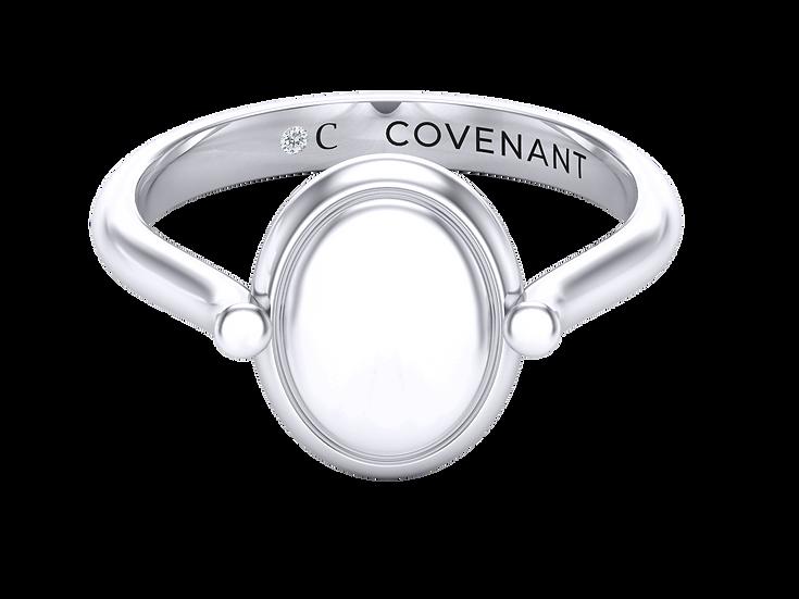 Covenant Tablet Ring Ladies