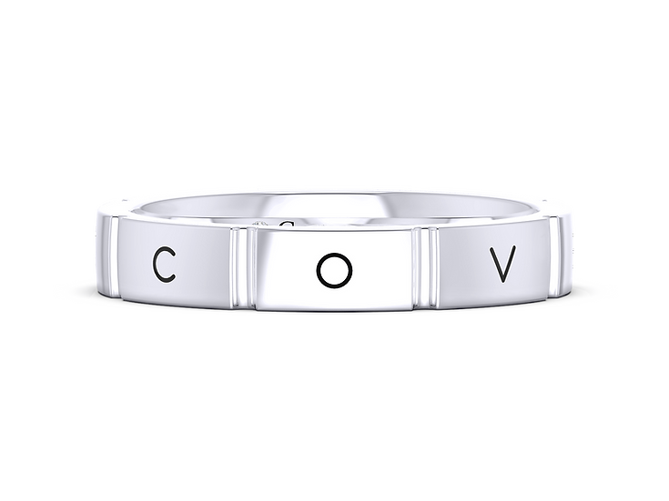 """""""Eight"""" Covenant Ring"""