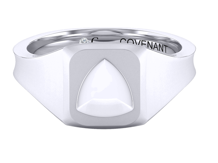 Covenant Oath Square Ring
