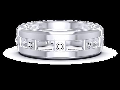 "The ""Eight"" Covenant Slider Ring"