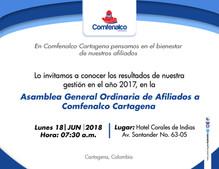 Asamblea General Ordinaria de Afiliados Comfenalco