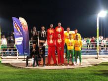 Estudiantes de la Ciudada Escolar Comfenalco en los Juegos Supérate Intercolegiados a nivel nacional