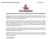 Comfenalco entrega balance positivo sobre subsidio al desempleo por emergencia