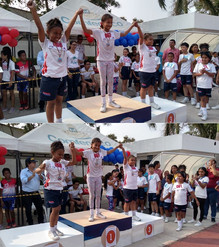 """I Festival de Atletismo Escolar """"Competir me hace feliz"""" 2019."""