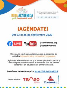 Agenda – Ruta académica por la transformación social