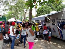 ¡Hoy la Unidad Móvil de Empleo Comfenalco Cartagena llegó hasta el barrio Fredonia!