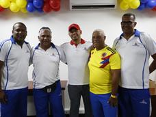 Orlando Cabrera de visita en Comfenalco Cartagena