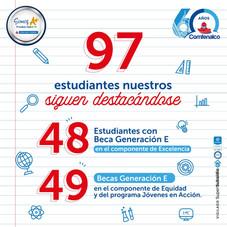 97 ESTUDIANTES DE COMFENALCO GANAN BECA GENARACIÓN E